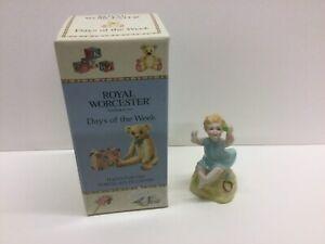 Royal Worcester Sunday Boy  Porcelain figurine