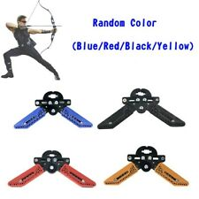 New listing NEW Adjustable Compound Bow Stand Holder Archery Target Shooting Bow Support YU