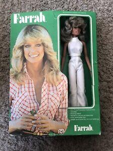 "Mego Original Vintage 1977 Farrah Fawcett Doll 12"" Doll w/ Box - FREESHIP"