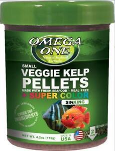 Omega One Super Color Kelp Sinking Pellets 4.2 Ounces