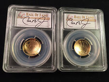 2014-W PCGS HOF Baseball Gold PR70 MS70 Set First Strike FS Cal Ripken Jr. OGP