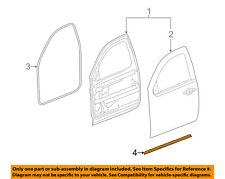 GM OEM Front Door-Lower Weatherstrip Weather Strip Seal Left 20835968