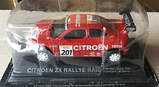 "DIE CAST "" CITREON ZX RALLYE RAID GRANADA - DAKAR - 1996 "" RALLY DEA SCALA 1/43"