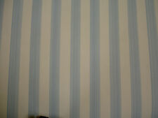 Farrow & Ball wallpaper blue and white stripes (Closet Stripe ST 360)