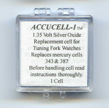 "Accucell-1 Battery For Bulova Accutron  Power Cell  ""CLARK"""