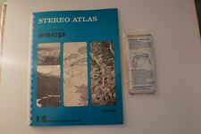 Stereo Atlas Earth Science Curriculum Project Hubbard Press 1968 with GLASSES