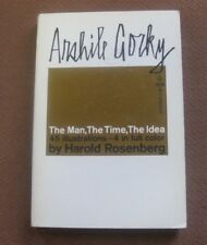 ARSHILE GORKY by Harold Rosenberg  - 1st PB 1962 Grove - ART - Galley Evergreen