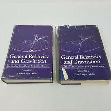 General Relativity and Gravitation in 2 Volumes (1980, After Einstein, HC DJ)