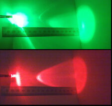 Alternate Red-Green Flashing 5mm 12V Wired LED