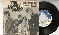 "Moody Blues - Nights in white Satin (1967) FRANKREICH 7"""