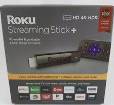 Roku Streaming Stick Plus 3810R 4K Streaming Media Player Voice Remote Black✅🌟