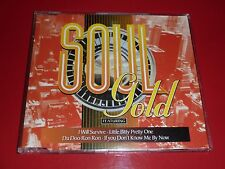 SOUL GOLD CD (DRIFTERS PERCY SLEDGE CRYSTALS SHIRELLES GLORIA GAYNOR DEE CLARK)