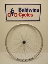700c / 29er REAR Hybrid Bike Wheel DOUBLE WALL - SILVER - 8-9-10 Speed Cassette