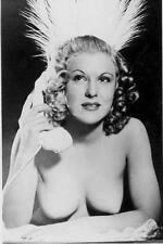 Akt Vintage Foto - leicht bekleidete Frau aus den 1950er/60er Jahren(80) /S200