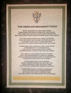 Mercian Regiment Poem