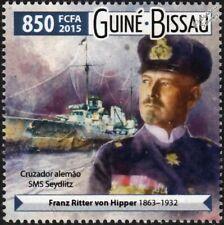 WWI SMS SEYDLITZ Battlecruiser (von Hipper) Battle of Dogger Bank Warship Stamp