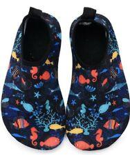 FASHOE Kids Swim Shoes Quick Dry Barefoot Socks Toddler Water Shoes 4.5 Fish