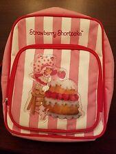 Strawberry Shortcake Striped Backpack ft. 80's Version of Custard & Strawberry
