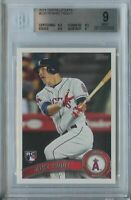 Mike Trout 2011 Topps Update Series #US175 Los Angeles RC Rookie Mint BGS 9