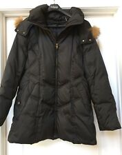 Andrew Marc Down Jacket Hood Real Coyote Fur Warm , Size XL.    NWOT ❄️💨
