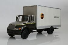 UPS Freight International Durastar Delivery Mail Truck 1:64 Scale Diecast Model