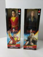 DC True Moves Action Figures Shazam & Dr. Sivana - NEW