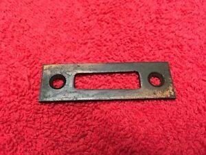 Vintage Door Strike Plate Mortis Lock Striker Plates Vintage Door Hardware
