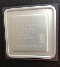 NUOVO amd-k6-iii + / 450acr 450MHz CPU VELOCE HIGH END processore Chip Socket 7