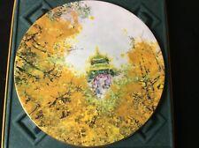 Imperial Palace Plate/ Original Box Royal Doulton 1997 Collectors International