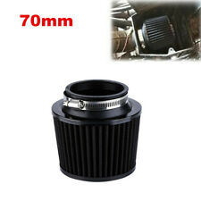 "1x 2.75"" Performance High Flow Cold Air Intake Cone Replacement Filter Black"