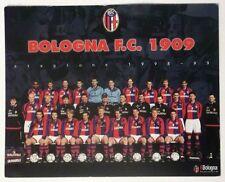 Cartolina Bologna Calcio Squadra 1998-99