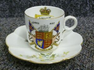 George & Princess May of Teck Royal Wedding 1893 Cup and Saucer