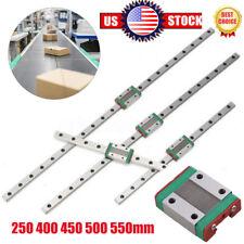 Mgn12H Linear Sliding Rail Miniature Guide Block Cnc 250-550mm Diy 3D Printer