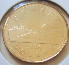 2006 Canada Loonie One Dollar Coin. (UNC.)