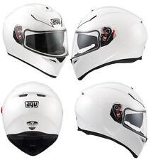 Casques blancs AGV taille S moto pour véhicule