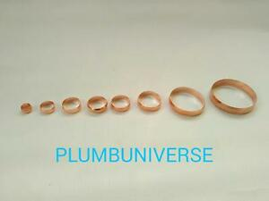"""Compression Copper Olives (Various Sizes 8mm-54mm) (3/4"""" Available)"""