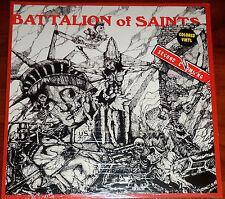 Bataillon de Saints - THE SECOND COMING LP - NEUF ROUGE VINYLE GATEFOLD (2013)
