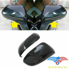 FOR 2018-2020 TOYOTA CAMRY 2pcs Carbon Fiber Paint Mirror Cover Overlay XLE SE