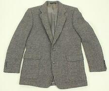ARNIE Arnold Palmer 40R Blazer Sport Coat Gray 40 Reg Suit Jacket Tweed VTG