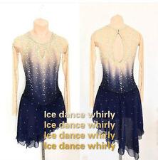 Figure Skating Dresses Custom Baton Twirling Costume Ice figure Skating Dresses