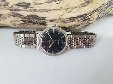 USED VINTAGE 1968 OMEGA SEAMASTER BLACK DIAL AUTOMATIC CAL:552 MAN'S WATCH