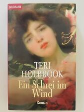 Teri Holbrook Ein Schrei im Wind Roman Krimi Goldmann Verlag