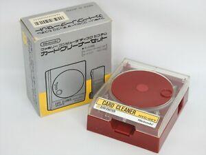 Famicom Disque Système Carte Nettoyant Emballé HVC-027 Nintendo Réf / 2927 Fait