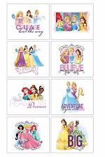 Disney Princess Tattoos Sheet - Birthday Favours  Rapunzel Belle NEW Design 2017