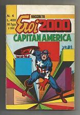 RACCOLTA SUPER EROI 2000 ED. CORNO Nr° 4 CONTIENE CAPITAN AMERICA 12-14-15