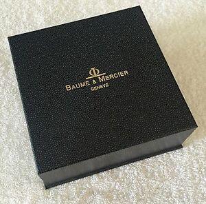 BAUME & MERCIER Watch Box Scatola Hampton Classima Capeland Baumatic Clifton OEM
