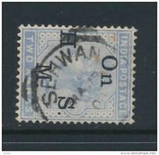 INDIA, squared Circle postmark SEHWAN (D)