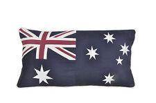"""Grandes de 30 pulgadas X 15 """"y bandera australiana Algodón Cojín 76cm X 38cm"""