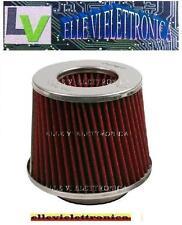 06110 Filtro Bi cono AF-3 Aspirazione Diretta Aria Motore Colore Rosso Argento