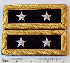 US 2 Star General Staff Officer Uniform Union Rank Army Boards Straps Civil War